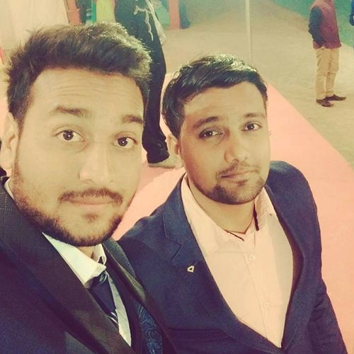 At His BIG Brother Dhaval Patel's Wedding Reception Party With Suit Up Look Still Most Eligible Bachelor Have Great Fun With Old School Friends