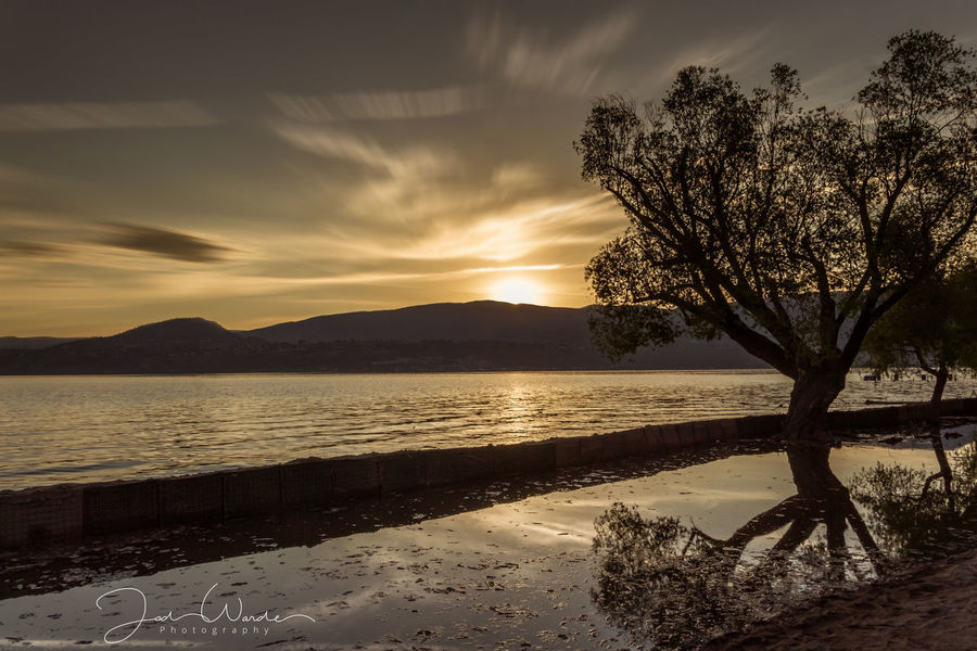 Outdoors Scenics No People Silhouette Sky Landscape Reflection Tranquility Cloud - Sky Horizon Over Water Sunlight Water Tree Beach Lake Nature Beauty In Nature Day Sunset