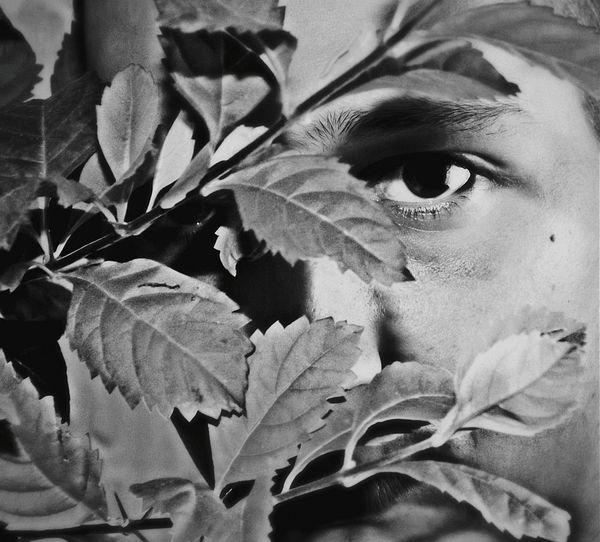 Faces Of EyeEm I Am Salfie Portrait Eyes Black And White Faces Monochrome