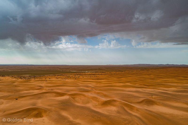 Wet dunes and