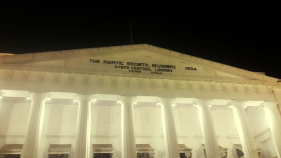 As good as new ....asiatic library Mumbai Old Building  Historical Building