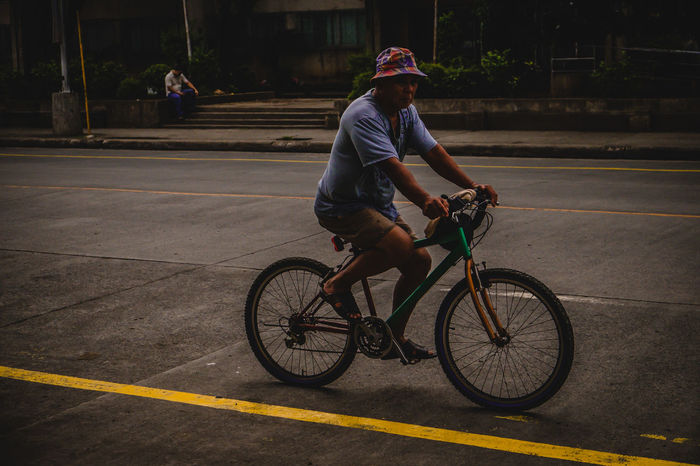 Cycling Bicycle Transportation One Person Riding Outdoors People EyeemPhilippines Eyeemphotography Eyeem Philippines Everydaystreets tEverybodystreet Streetphotography Everyday People EyeEm Eyem Best Shots