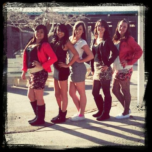 skirt day with the girls :)