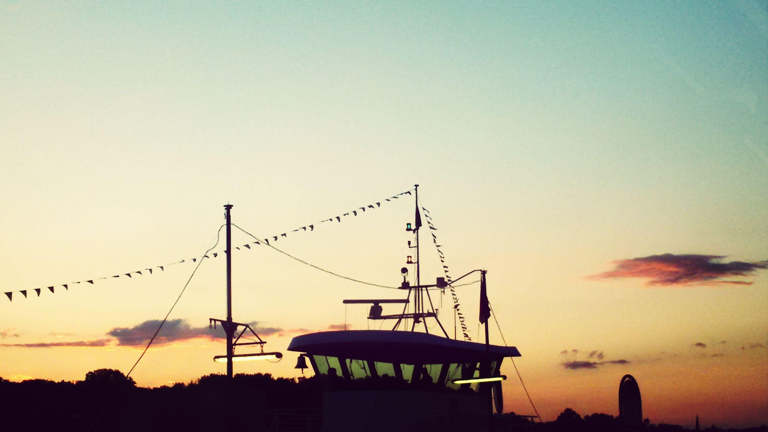 sunset, silhouette, orange color, built structure, architecture, crane - construction machinery, construction site, clear sky, building exterior, copy space, sky, development, low angle view, construction, crane, outdoors, industry, dusk, no people, construction industry