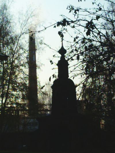 Two Towers Architecture Russia Yaroslavl