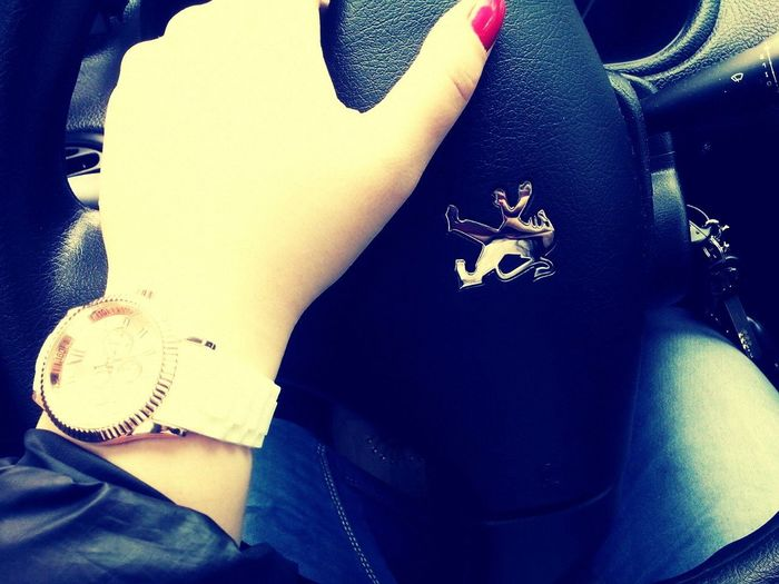 Peugeot Red Watch Drive First Eyeem Photo