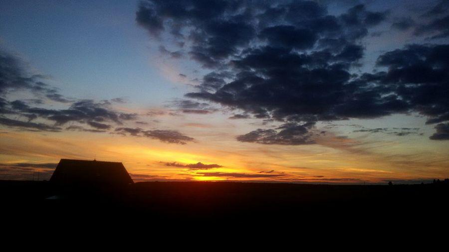 Sunset Sky Outdoors Dramatic Sky Nature First Eyeem Photo The Great Outdoors - 2017 EyeEm Awards Czech Republic