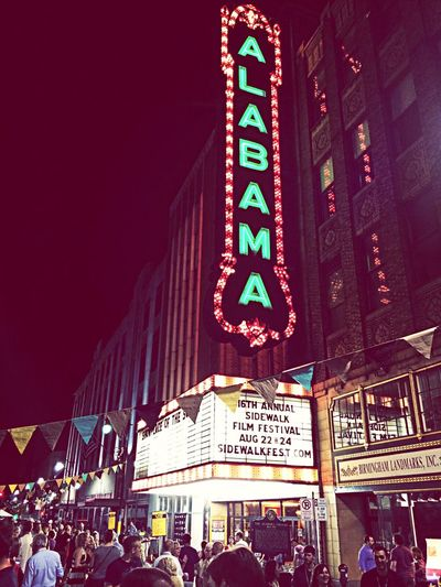 Alabama Theater Sidewalksweet16