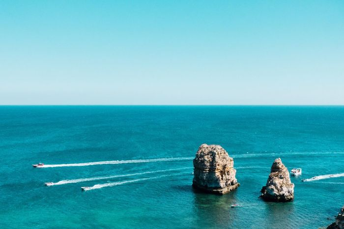 Ocean dreaming... Water Sea Horizon Over Water Blue Horizon Nature Sky Scenics - Nature Beauty In Nature No People Tranquility Travel Day Turquoise Colored Nautical Vessel Copy Space Beach Clear Sky Travel Destinations Visual Creativity