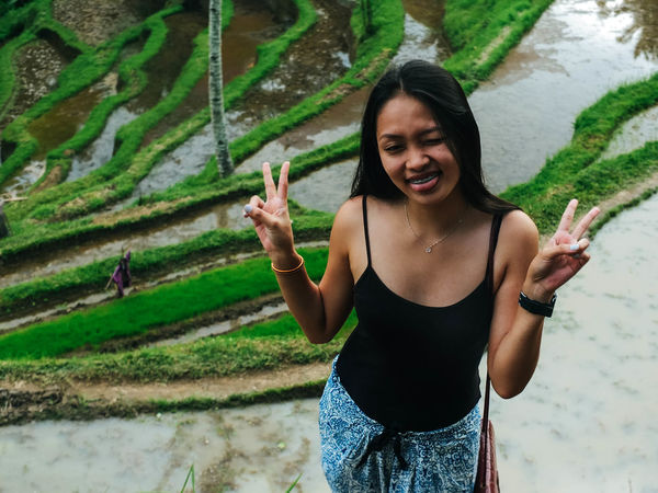 EyeEm Selects Leisure Activity Sunlight Beauty Outdoors Portrait Vacations Asian Travel Beautiful People Baliphotography Travel Destinations Nature Tegalalang Ubud, Bali INDONESIA Truly Asia Eyeem Philippines The Week On EyeEm