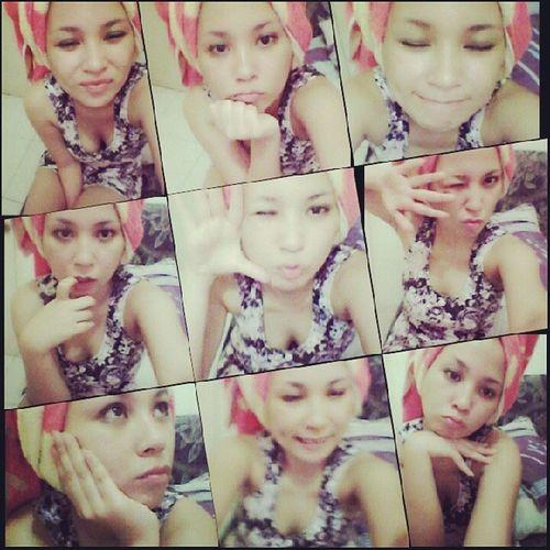 Paksa remaja tapi ttap aja gak cocok..haha AfterShower Asiangirl Likeateen Likeit selfie selcam doubletap like4like f4f