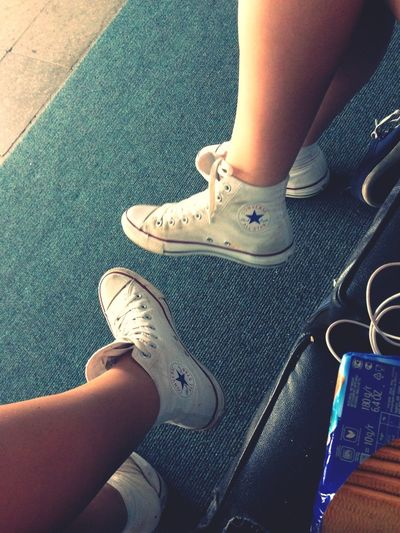 From Where I Stand Converse Best Friends Training