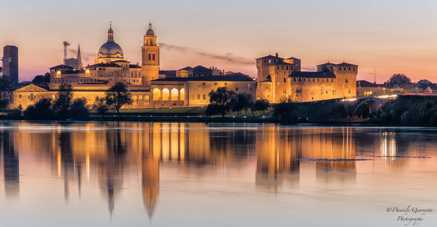 Mantova Architecture Building Exterior Built Structure Day Dome History Nature No People Outdoors Place Of Worship Reflection Religion Sky Spirituality Sunset Travel Destinations Water Waterfront EyeEmNewHere