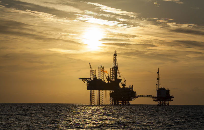 Business Finance And Industry Drilling Platform Drilling Rig Fuel And Power Generation Gasoline Golden Hour Horizon Over Water Industry Jack Up Rig Nature No People Offshore Platform Oil Industry Outdoors Sea Seascape Sky Sunset Sunset Silhouettes Technology Tower Water