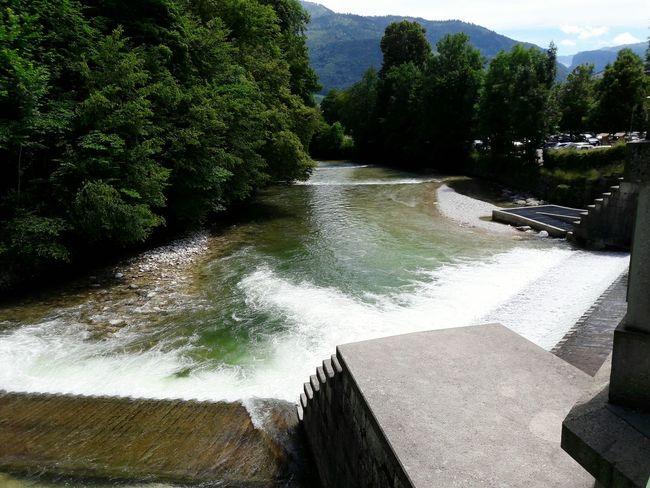 Enjoying Life Outdoors Badischl Austria River Mountain