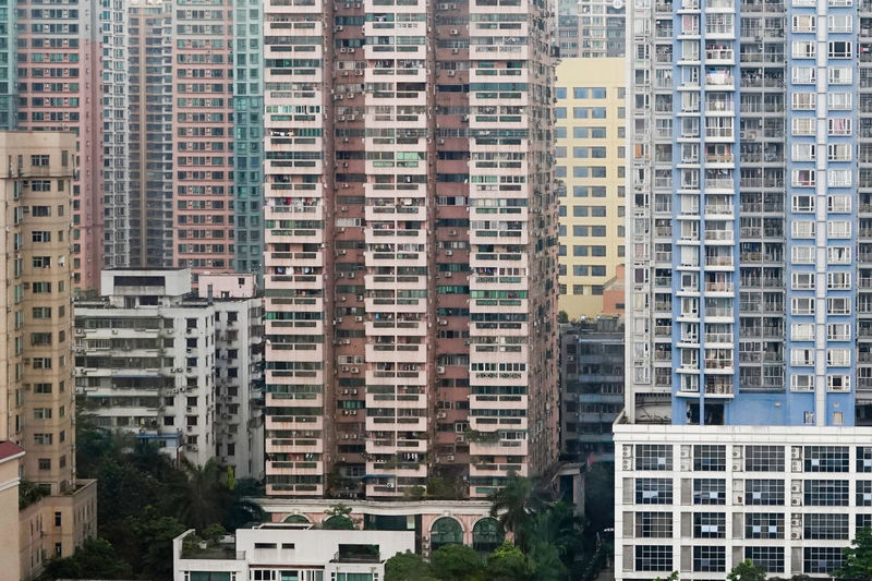Apartment Architecture Backgrounds Building Building Exterior Built Structure China City City City Life Cityscapes Day Full Frame Growth Guangzhou Guangzhou,China Modern No People Office Building Outdoors Residential Building Residential District Residential Structure Sky Tall - High