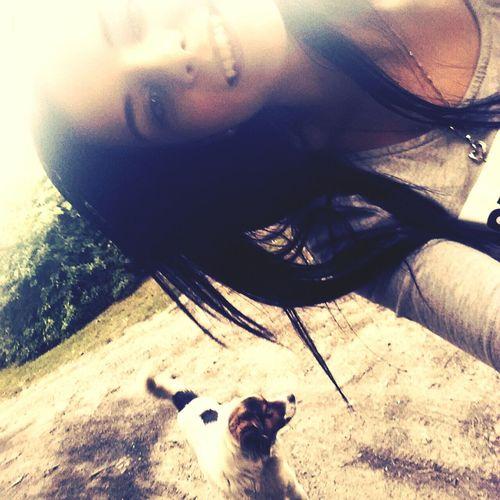 Me !;)♥ I Moj Pies Zbyszek Kocham <3 👸👑💄💎💋