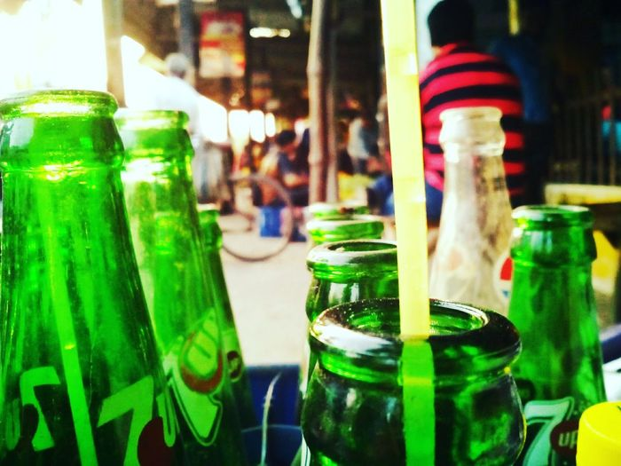 Bottle Drink Refreshment Alcohol Food And Drink Close-up Indoors  No People Freshness Day Mojito Paint The Town Yellow