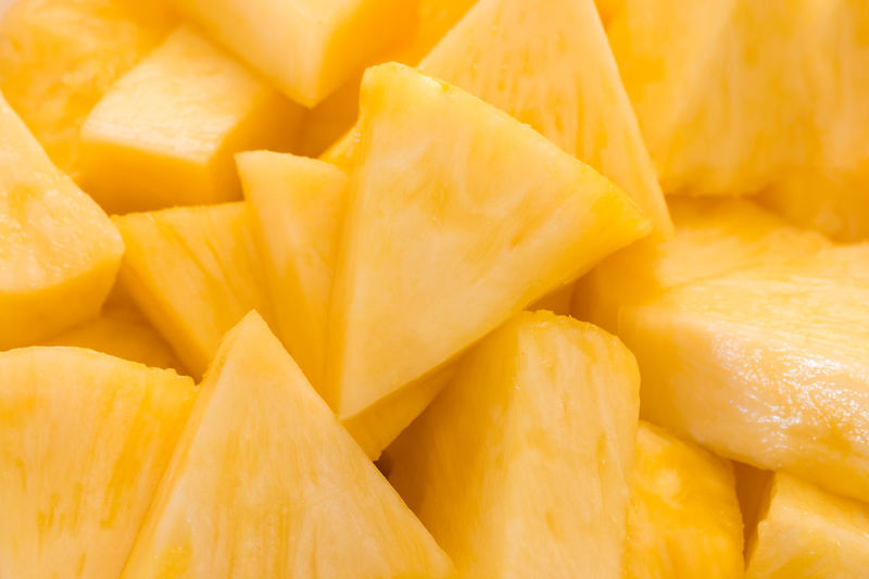 Backgrounds Close-up Day Diet Food Food And Drink Freshness Fruit Full Frame Healthy Healthy Eating Indoors  Juicy No People Pineapple Slices Sweet Taste Topical Yellow