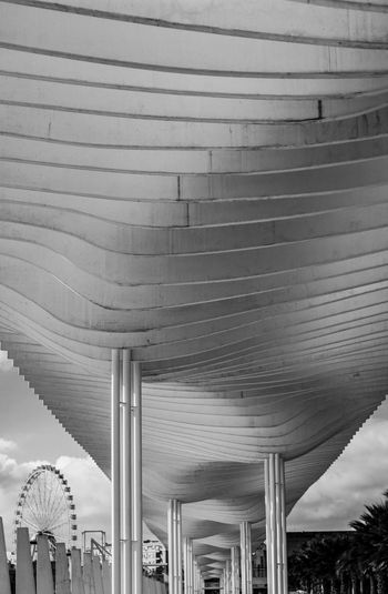 Architecture Blackandwhite Built Structure Day Malaga No People Outdoors Sky