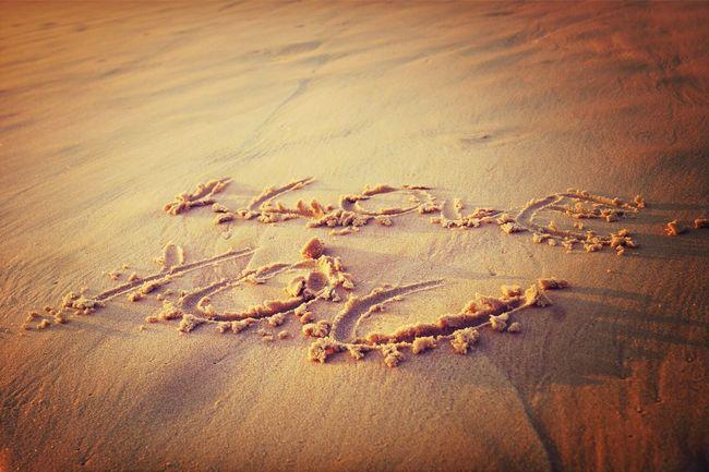 Aussie Beachphotography Inlove Message To Love