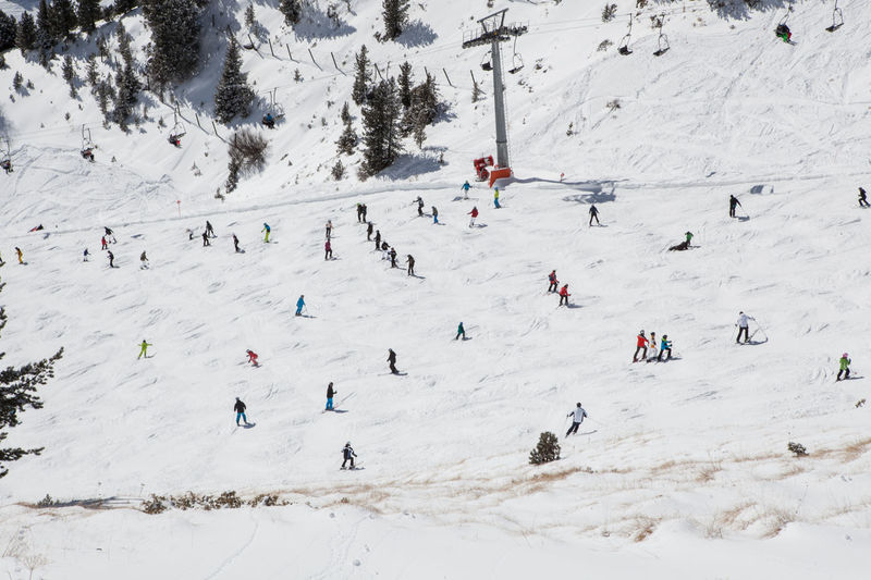 Ants Chairlift Crowded From Above  Large Group Of People Mogul Empire Mogul Skiing Mogul Slope Moguls Mountains Nature Outdoors Sellaronda Ski Piste Skiing Slope Snow Sport Sunny Vacations Winter Winter Flying High Lost In The Landscape Shades Of Winter