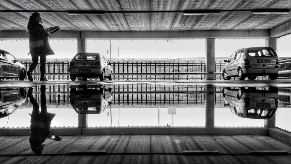 Capture The Moment Black And White Blackandwhite Reflections Water Reflections Reflection Taking Photos The Street Photographer - 2017 EyeEm Awards