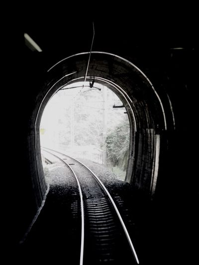 Black And White Tunnel