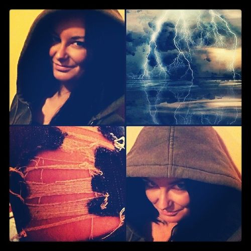 Let the rain wash away all the pain of yesterday. LetItRain Lightning Thunder Selfies