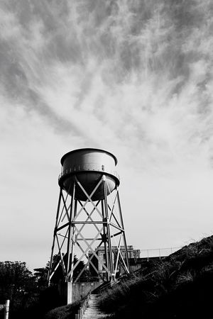 Water Tower - Storage Tank Storage Tank Water Conservation Built Structure Sky Architecture Low Angle View Water Tank Cloud - Sky Nature Day No People Outdoors Tree