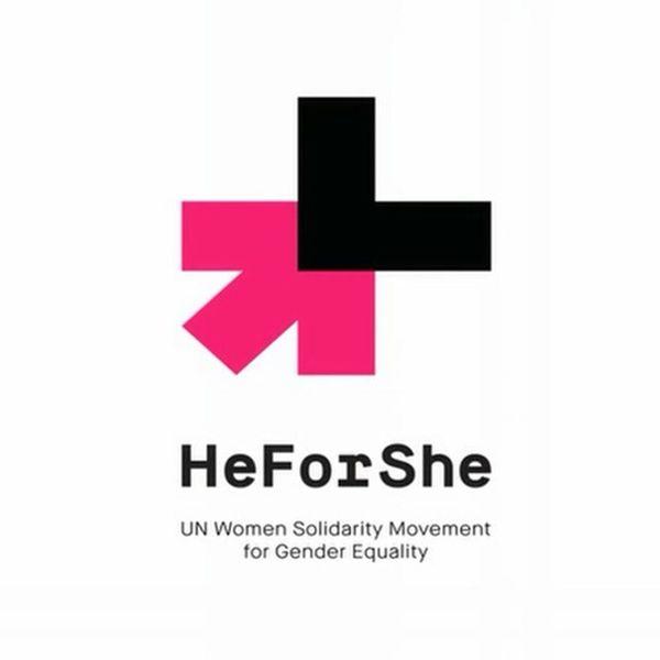 Support gender equality! Heforshe Emmawatson Campaign