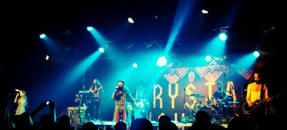 The coolest of coolest!!!Crystalfighters Athome  Great Vibe LiveConcert Spring2014 Lovenatural