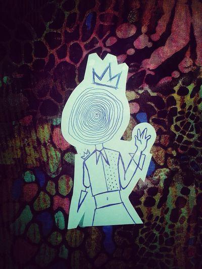 Quando não se tem nada pra fazer. Freak Illustration Draw Crown