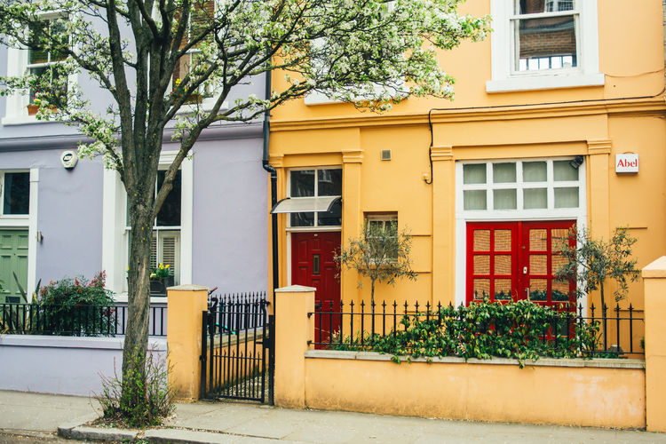Building Exterior Architecture Built Structure Building Residential District Outdoors House Colorful London