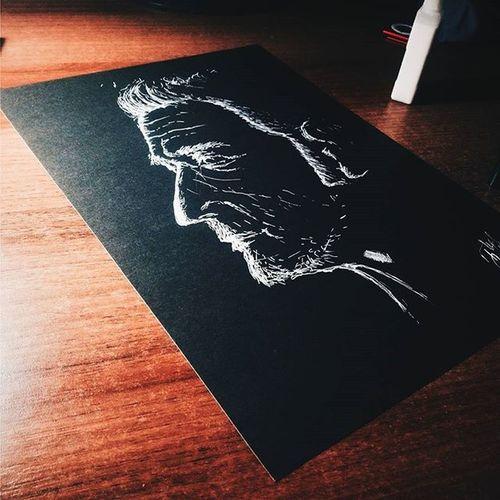 Portrait Black White Blackandwhite Rapidograph Art Art, Drawing, Creativity