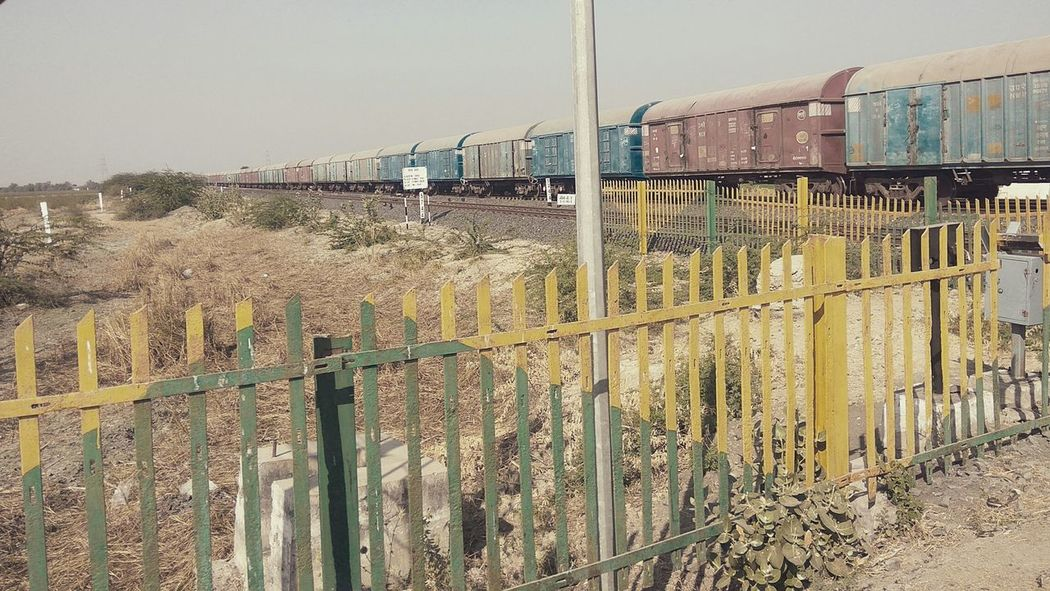 Railway in my hometown. Indian rail coach Outdoors Sky Day No People Railway Track Railway Railway Carriages