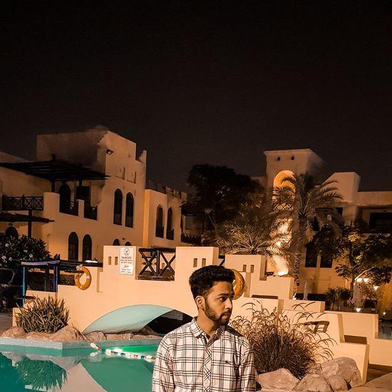 ⚔ Pool Poolside EyeEmBestPics EyeEm Best Shots Illuminated Tree City Sky