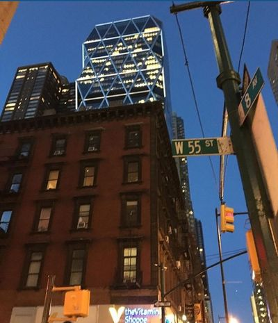 Architecture NYC Hells Kitchen  Midtown Manhattan