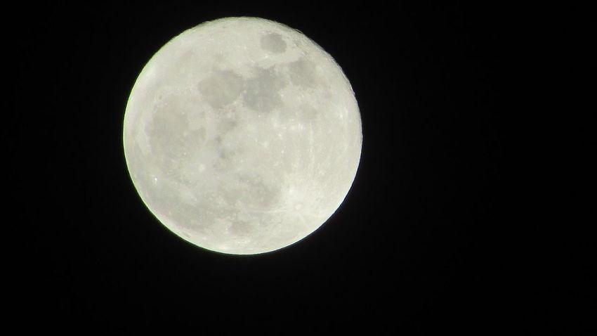 Full Moon 🌕 Thursday Night ❄❄Wintertime Cold❄❄ Cadillac Sky Pure Michigan