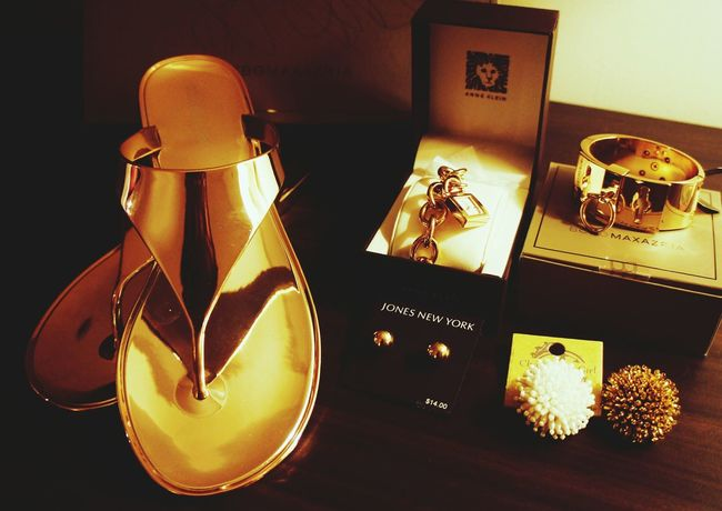 Gold item! Enjoying Life Check This Out My Fashon Accessories