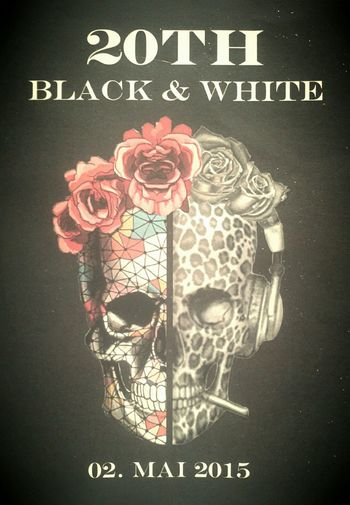 Made flyer for a friend Photoshop Polydesign Art Blackandwhite My Work Deadhead Flowerpower