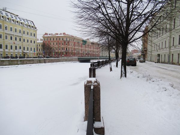 Winter Snow Cold Temperature Weather Building Exterior Architecture Built Structure Outdoors City