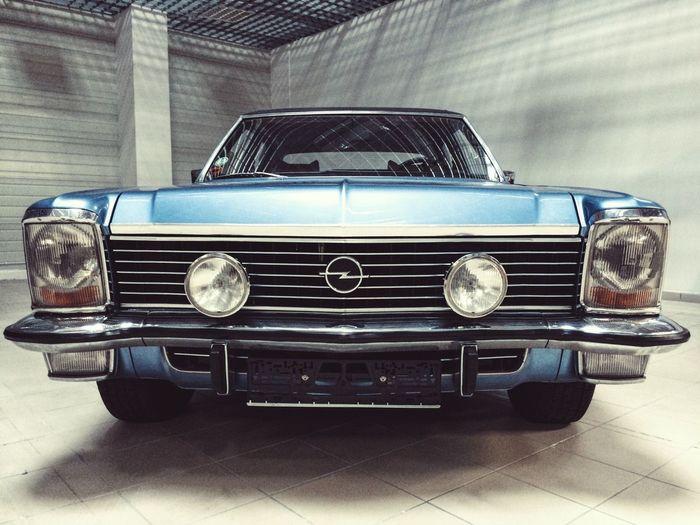 Opel Diplomat Blue Car Ptakwarsawexpo