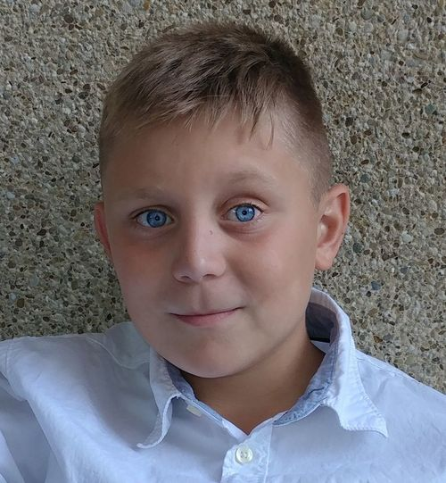 Looking At Camera Child Portrait Childhood One Person People Close-up Blond Hair Blue Eyes Sitting Eleven Years Old Student The Week On EyeEm Smiling Real People Cheerful Confidence  Front View Handsome Headshot. Looking At Camera Lexington KY This Is Masculinity