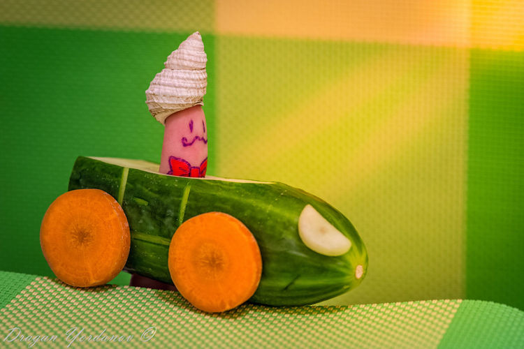 Bowtie Cabrio Close-up Freshness Green Car Green Color Macro Pointy Hat Sunrays Travel In Style Vegetables Rock