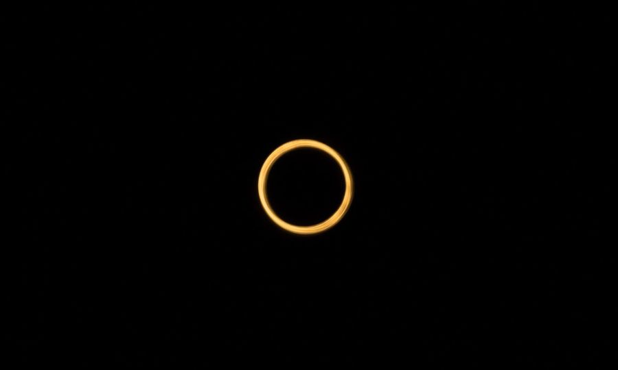 Annular solar eclipse 26/FEB/17 @eyeem Patagonia Argentina Eclipse Annual Ring Ring Sun Moon EyeEm Dark Outdoors Beauty In Nature Canon Canon60d