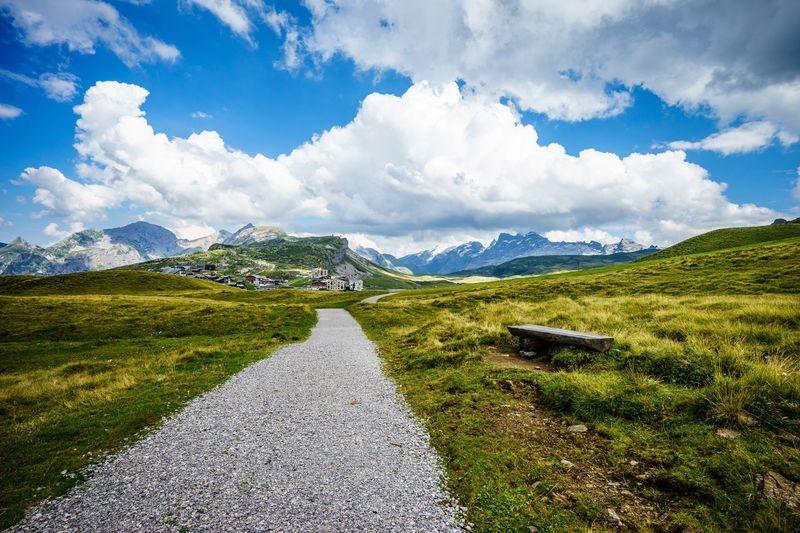 Landscape Mountain Tranquil Scene Sky Countryside Cloud Scenics Mountain Range Swiss Schweiz Melchsee-frutt Switzerland My Favorite Place