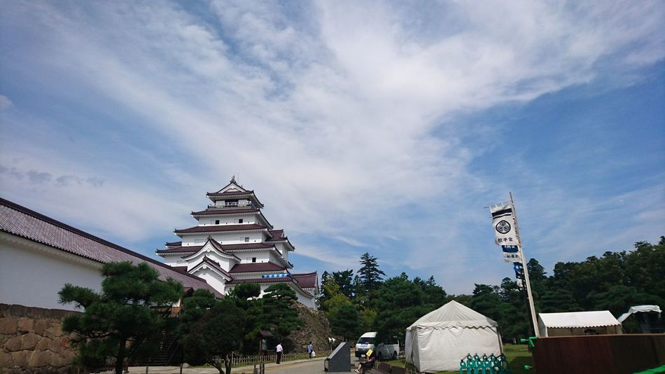 鶴ヶ城 福島 日本