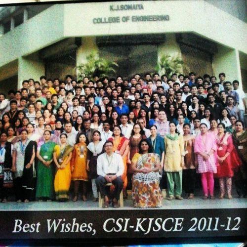 Kjsce College Days  Abhishek nandgaonkar farewell @hitts @deepu_virgo @krunal57 @madridista4ever