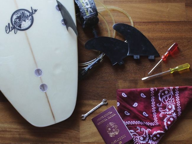 Surf details. NevermindRecords Surf Details Surfboard Travel Passport
